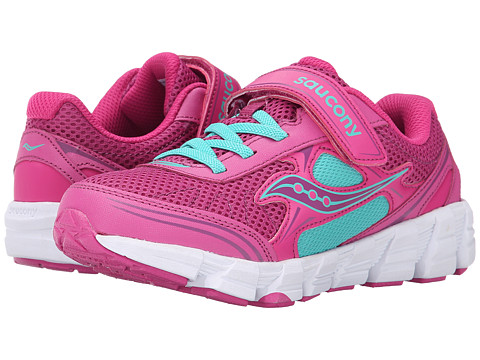 Saucony Kids - Kotaro 2 A/C (Little Kid/Big Kid) (Fuchsia/Pink) Girls Shoes