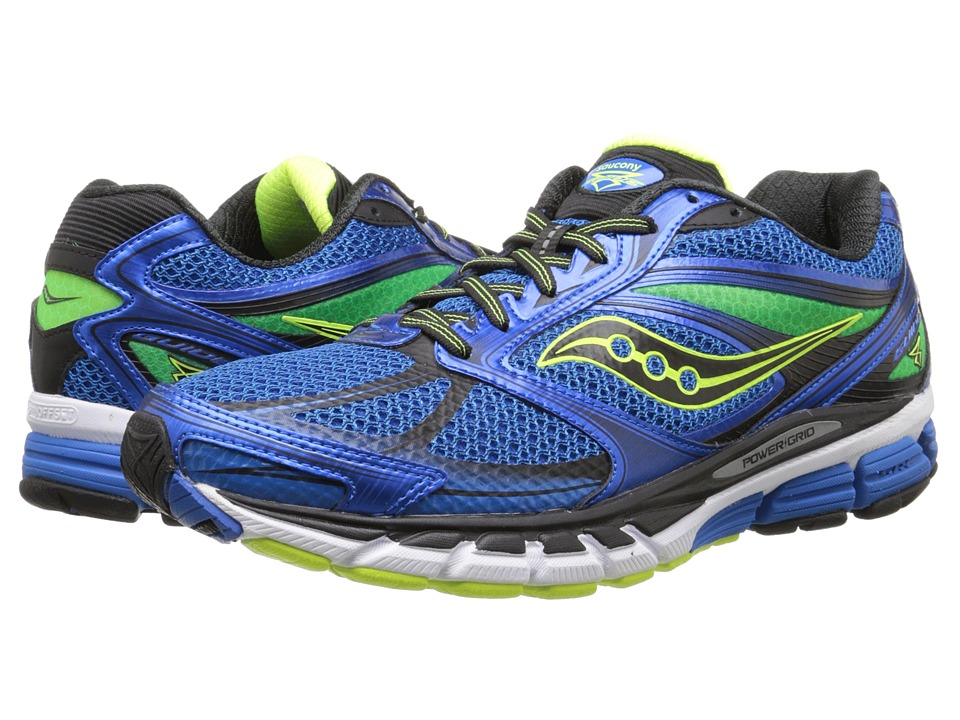 Saucony - Guide 8 (Blue/Black) Men's Running Shoes