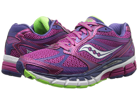 Saucony - Guide 8 (Berry/Purple/Slime) Women's Running Shoes