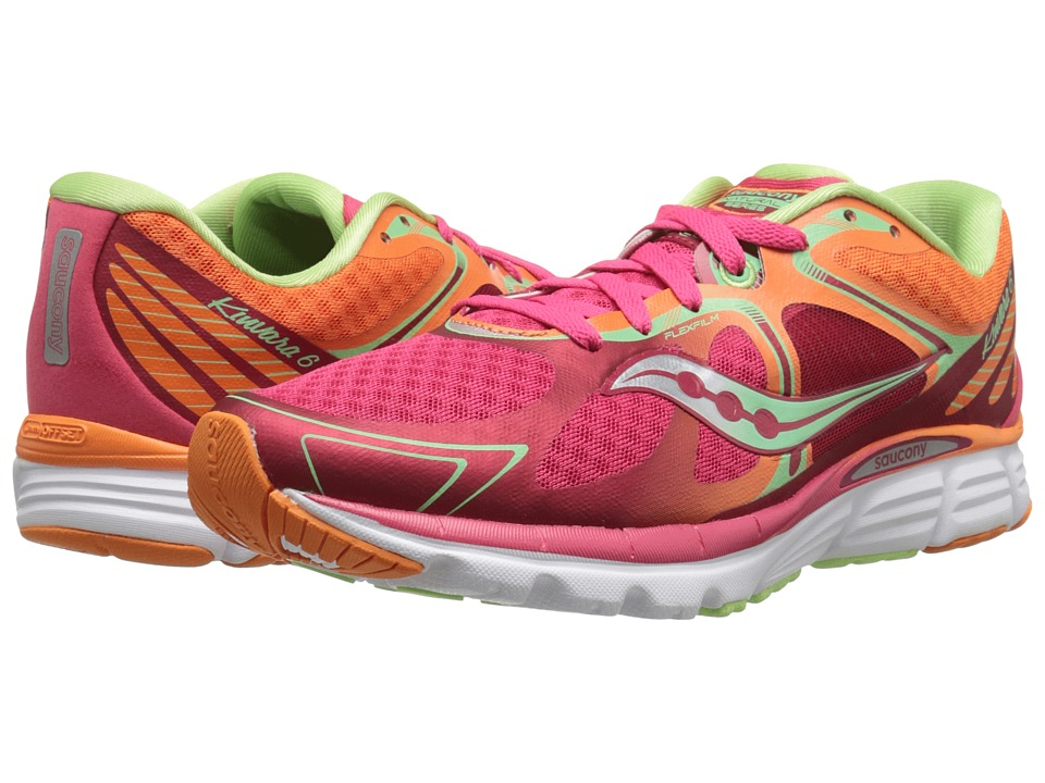 Saucony - Kinvara 6 (Red/Orange/Mint) Women