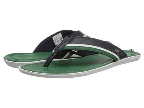 Lacoste - Carros 2 (Green/Navy) Men