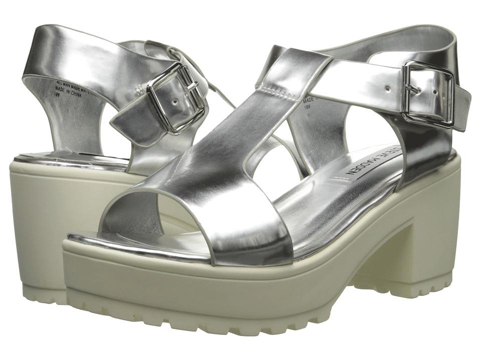 Steve Madden - Stefano (Silver) Women's Sandals
