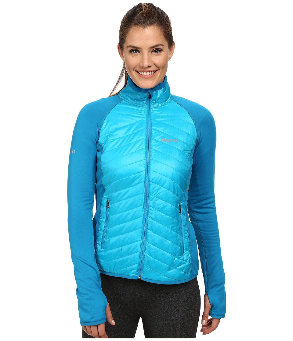 Marmot - Variant Jacket (Sea Breeze/Dark Atomic) Women's Jacket