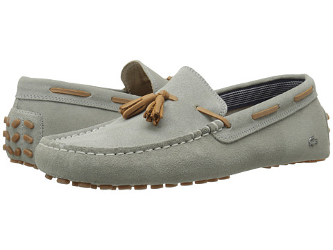 Lacoste - Concours Tassle 7 (Grey) Men's Shoes