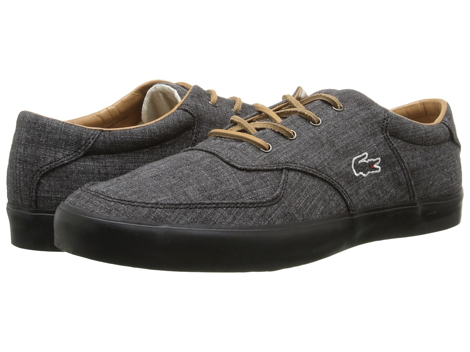 Lacoste - Glendon 12 (Black) Men's Shoes