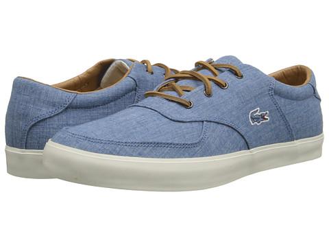 Lacoste - Glendon 12 (Blue) Men's Shoes