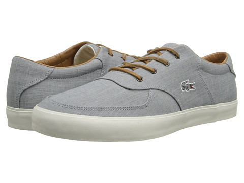 Lacoste - Glendon 12 (Light Grey) Men's Shoes