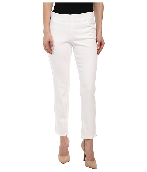 NYDJ Petite - Petite Millie Ankle in White (White) Women's Casual Pants