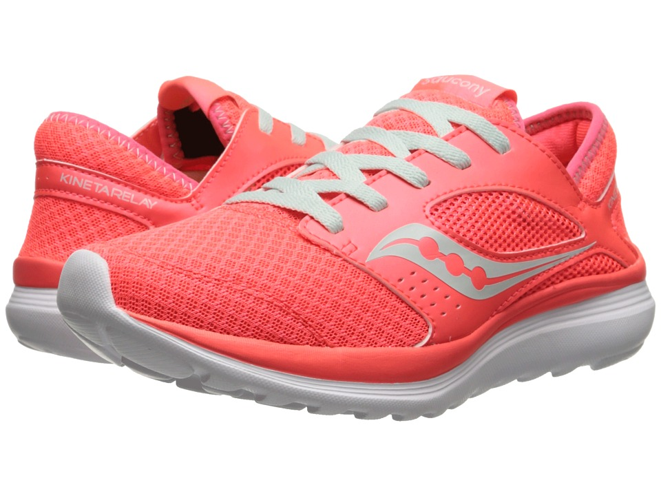 Saucony - Kineta Relay (Coral/Mint) Women's Running Shoes