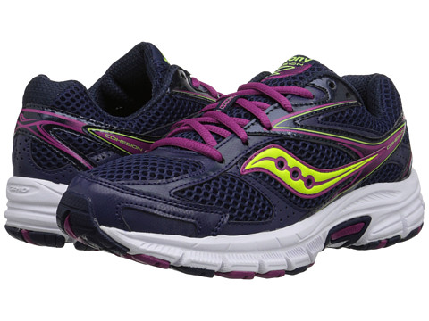 Saucony - Cohesion 8 (Navy/Berry/Citron) Women's Running Shoes