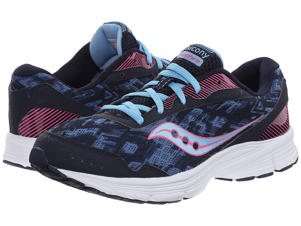 Saucony - Sapphire (Navy/Pink) Women's Running Shoes