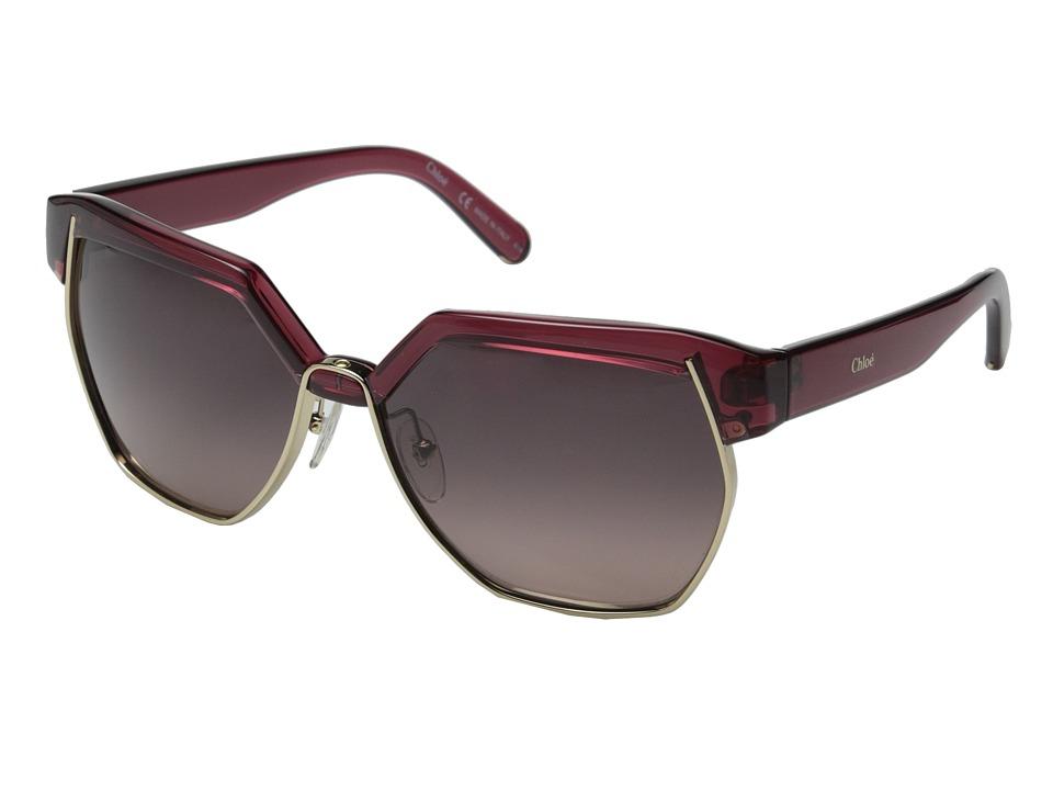 Chloe - Dafne - CE665SL (Light Havana) Fashion Sunglasses