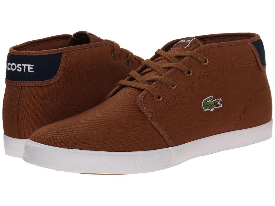 Lacoste - Ampthill WD (Tan/Dark Blue) Men's Shoes