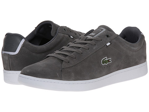Lacoste - Carnaby Evo HTB2 (Dark Grey/Dark Grey) Men's Shoes