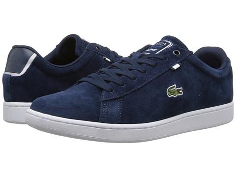 Lacoste - Carnaby Evo HTB2 (Dark Blue/Dark Blue) Men's Shoes