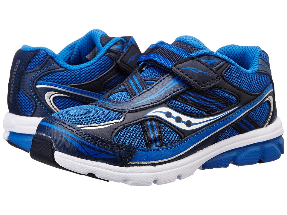 Saucony Kids - Ride (Toddler/Little Kid) (Royal/Navy) Boys Shoes