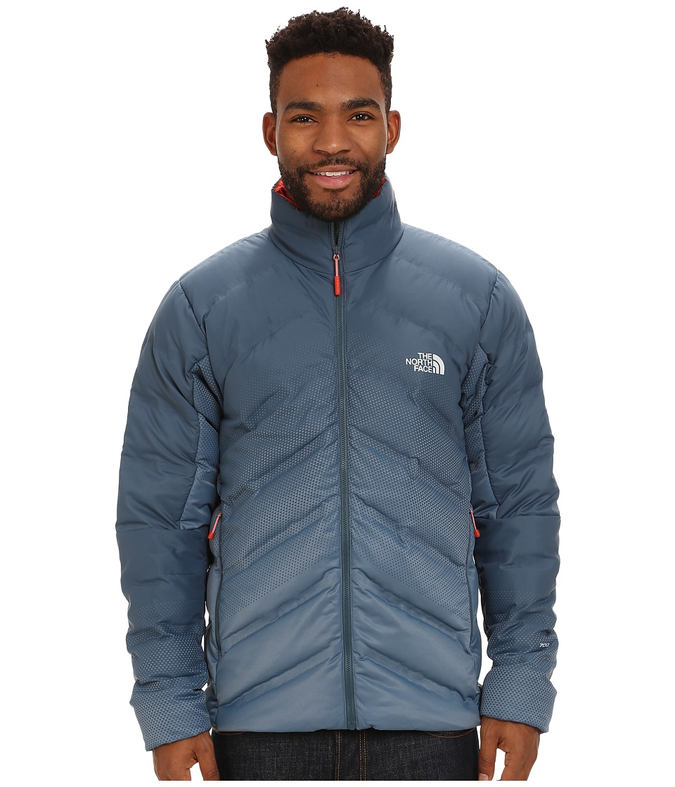 The North Face - FuseForm Dot Matrix Down Jacket (Conquer Blue Tri Matrix) Men's Coat