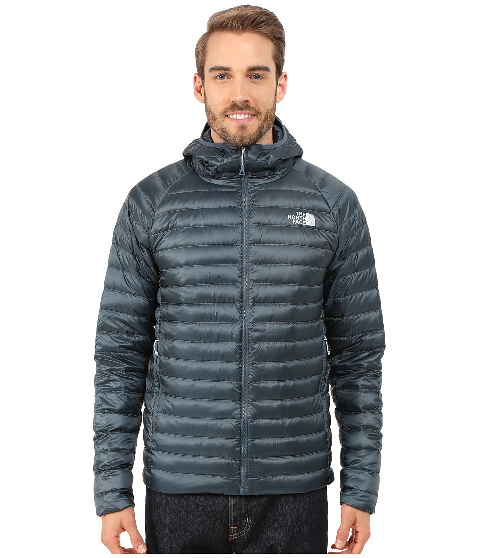 The North Face - Quince Hooded Jacket (Conquer Blue) Men's Coat