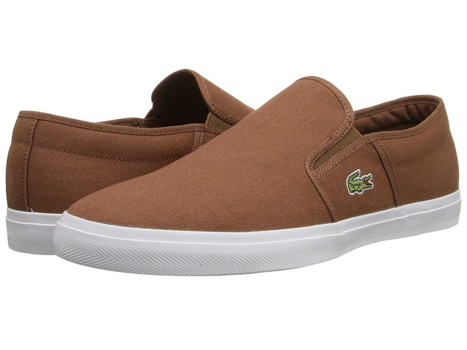 Lacoste - Gazon Sport WD (Tan/Tan) Men's Shoes