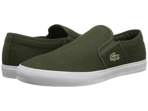 Lacoste - Gazon Sport WD (Green/Green) Men's Shoes