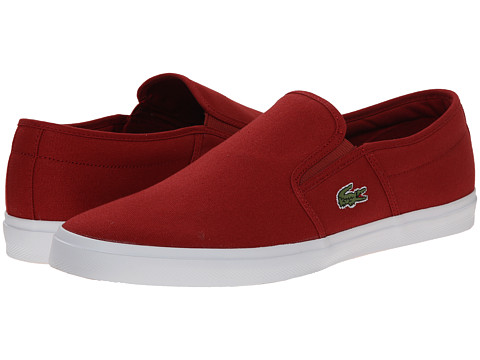 Lacoste - Gazon Sport WD (Red/Red) Men's Shoes