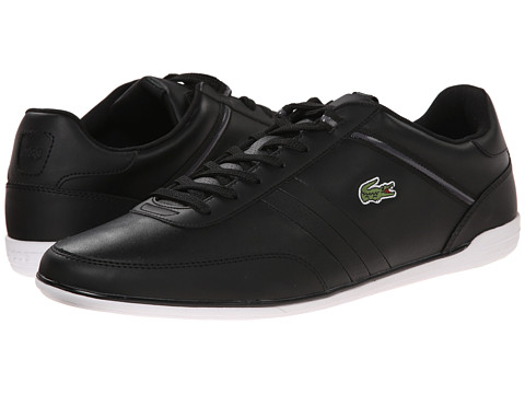 Lacoste - Giron HTB (Black/Dark Grey) Men's Shoes