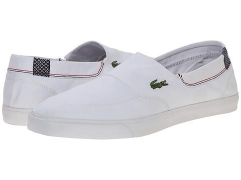 Lacoste - Havasu Vulc CE (White/White) Men's Shoes