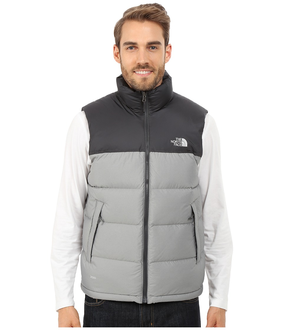 The North Face - Nuptse Vest (High Rise Grey Heather/Asphalt Grey) Men