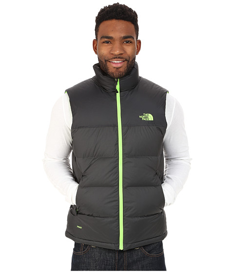 The North Face - Nuptse Vest (Asphalt Grey/Asphalt Grey) Men's Vest