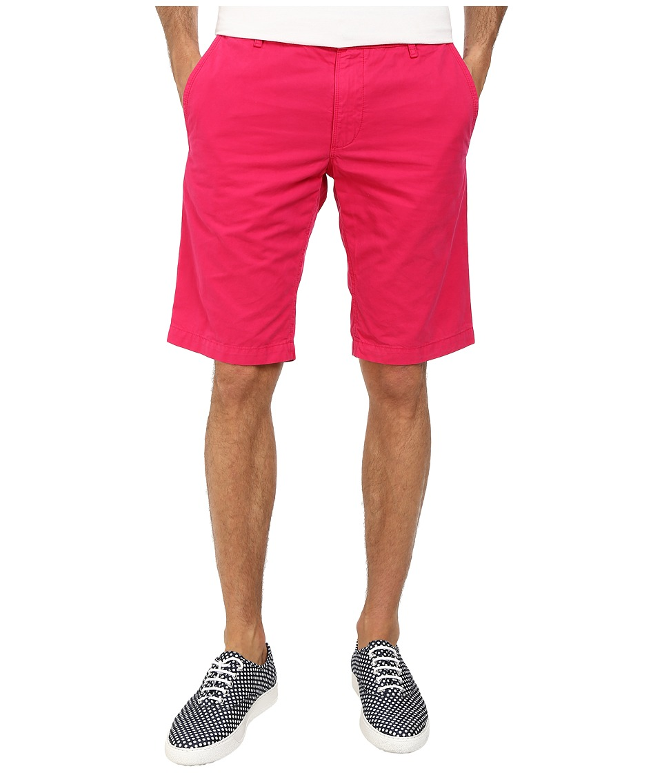 BOSS Orange - Schino-Shorts-D Regular Fit Overdyed Gabardine Shorts (Medium Pink) Men