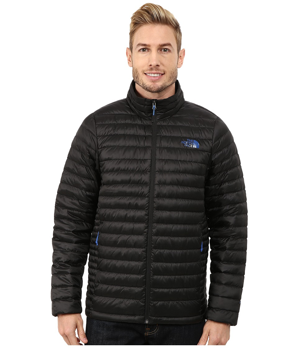 The North Face - Tonnerro Jacket (TNF Black/Monster Blue) Men's Coat