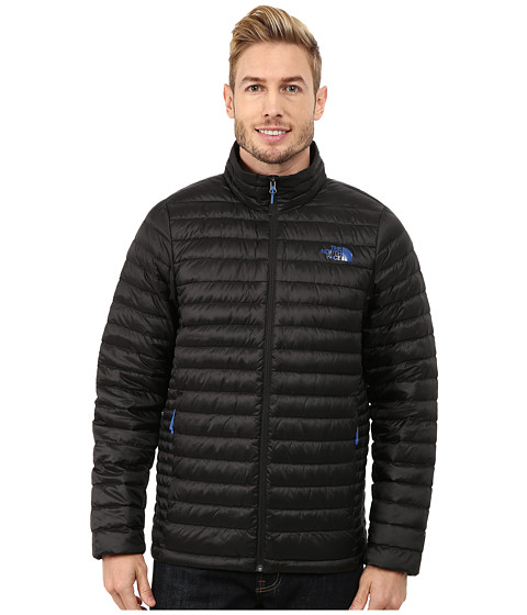 The North Face - Tonnerro Jacket (TNF Black/Monster Blue) Men