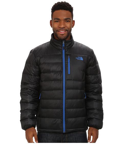The North Face - Aconcagua Jacket (TNF Black/Monster Blue) Men's Coat