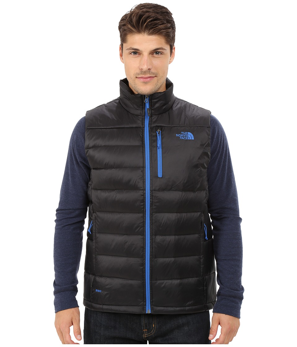 The North Face - Aconcagua Vest (TNF Black/Monster Blue) Men's Vest