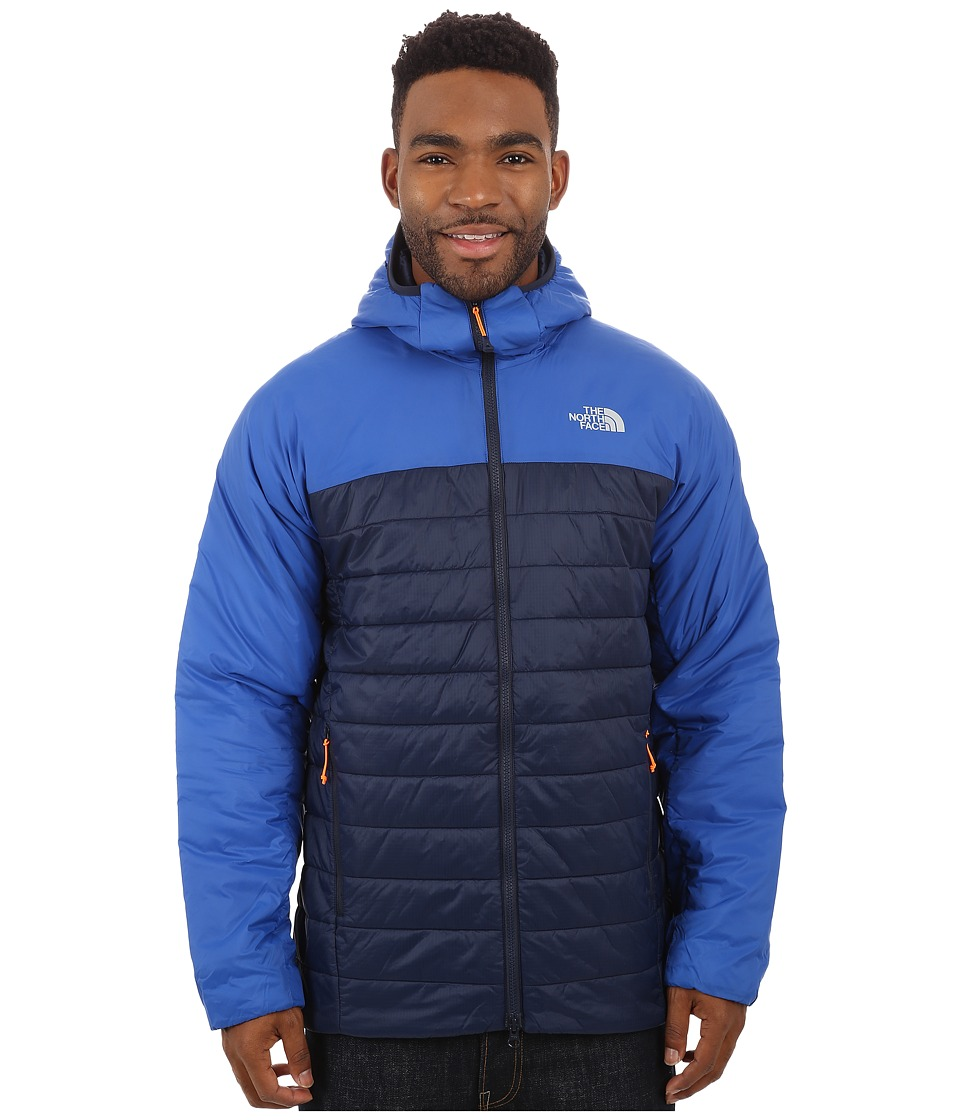 The North Face - Victory Hooded Jacket (Cosmic Blue/Monster Blue) Men's Coat