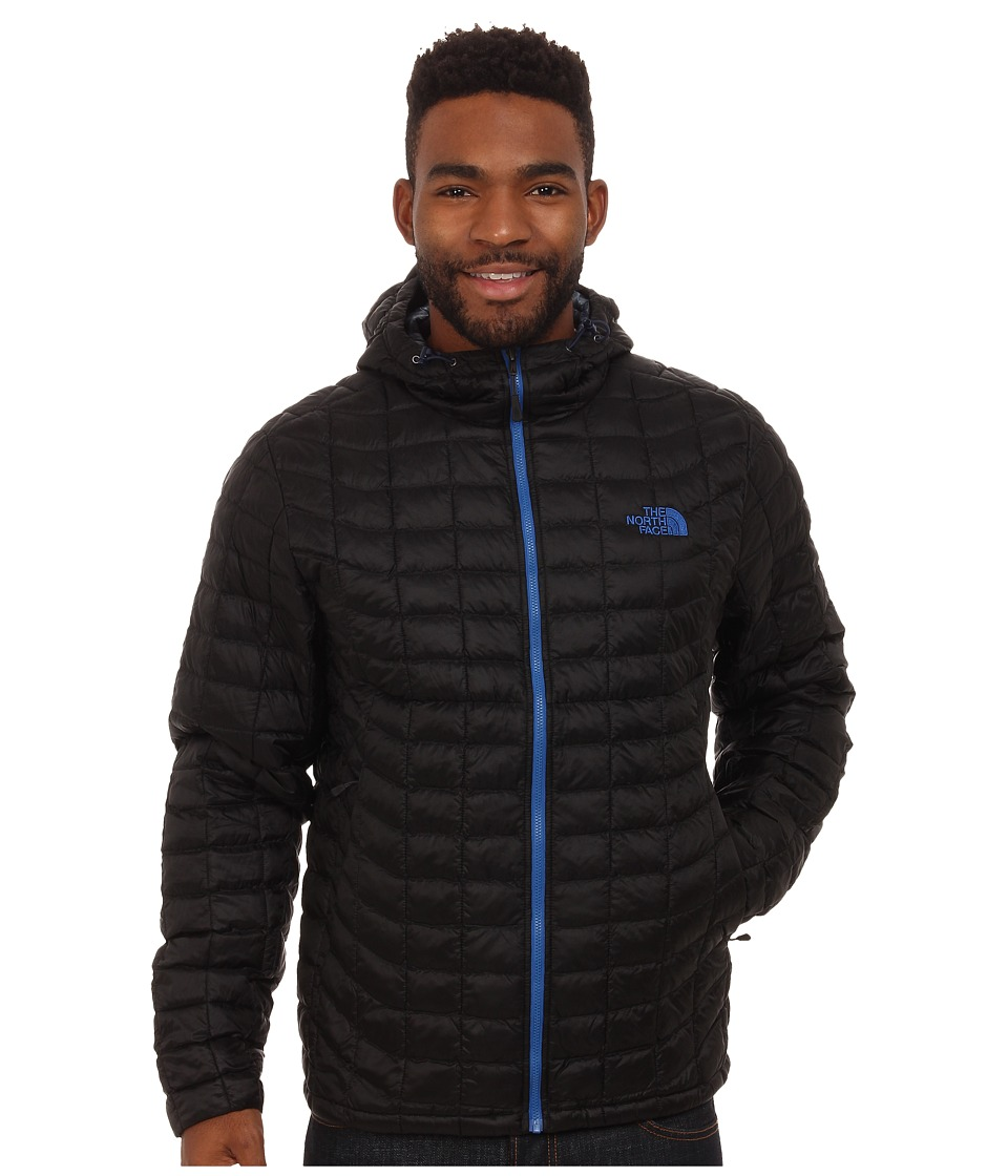 The North Face - ThermoBall Hoodie (TNF Black/Monster Blue) Men