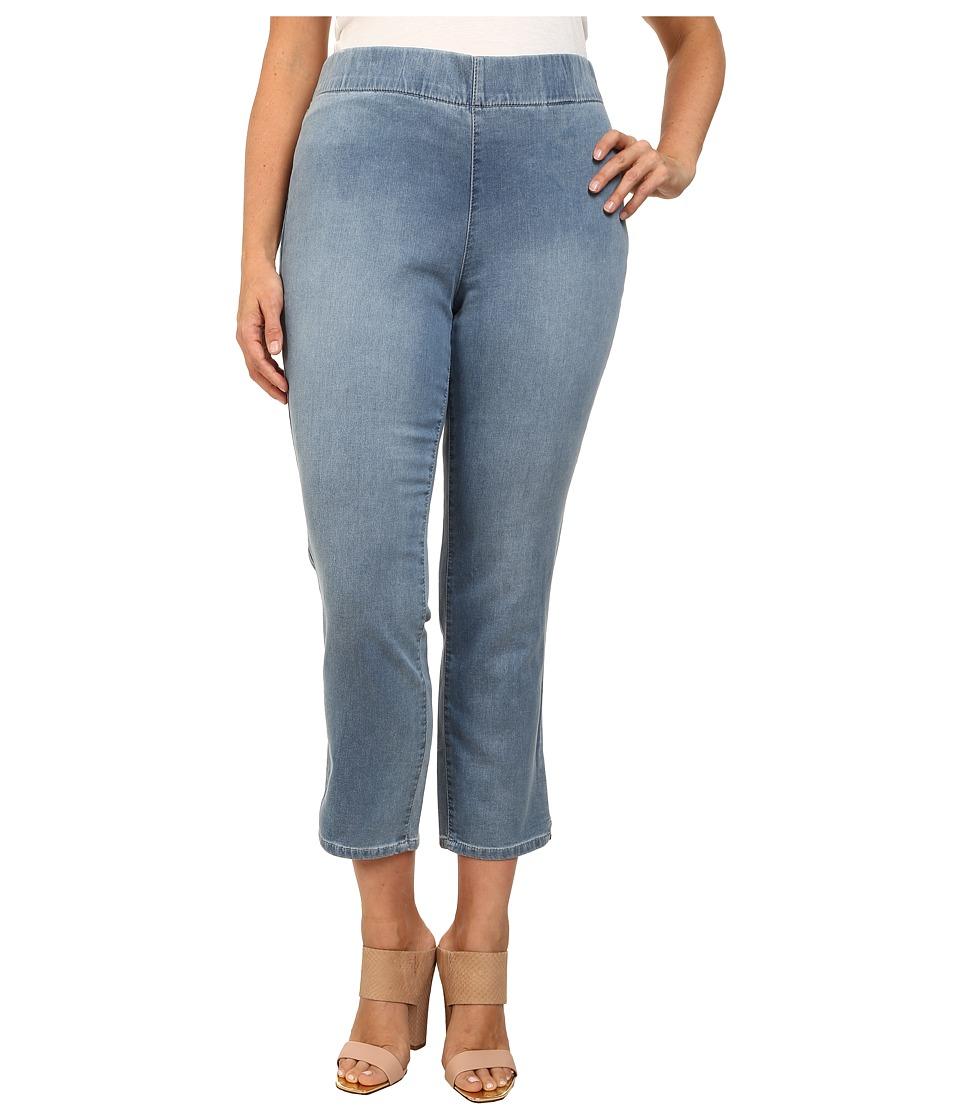 NYDJ Plus Size - Millie Indigo Knit Ankle Pant (Peninsula) Women's Jeans