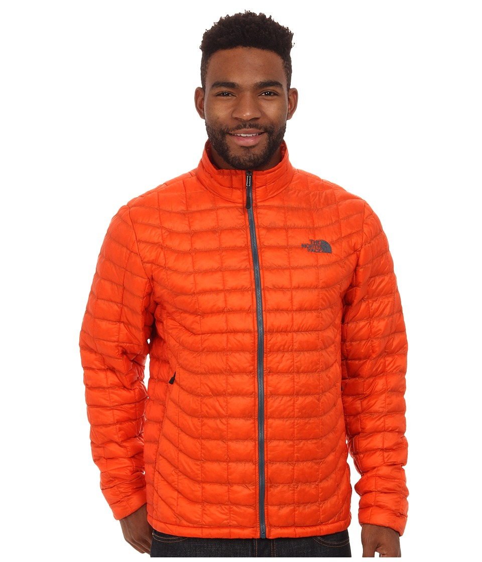 The North Face - ThermoBall Full Zip Jacket (Seville Orange) Men's Coat