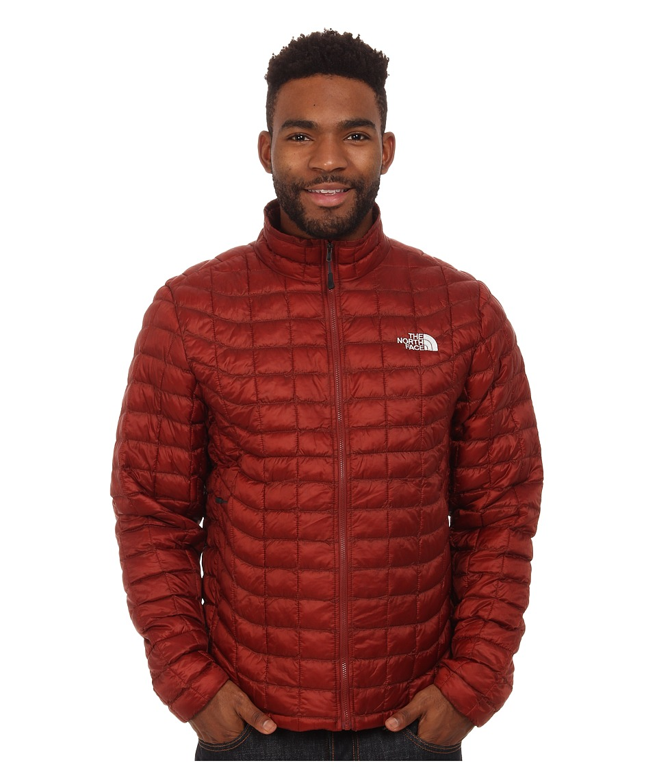 The North Face - ThermoBall Full Zip Jacket (Brick House Red) Men's Coat