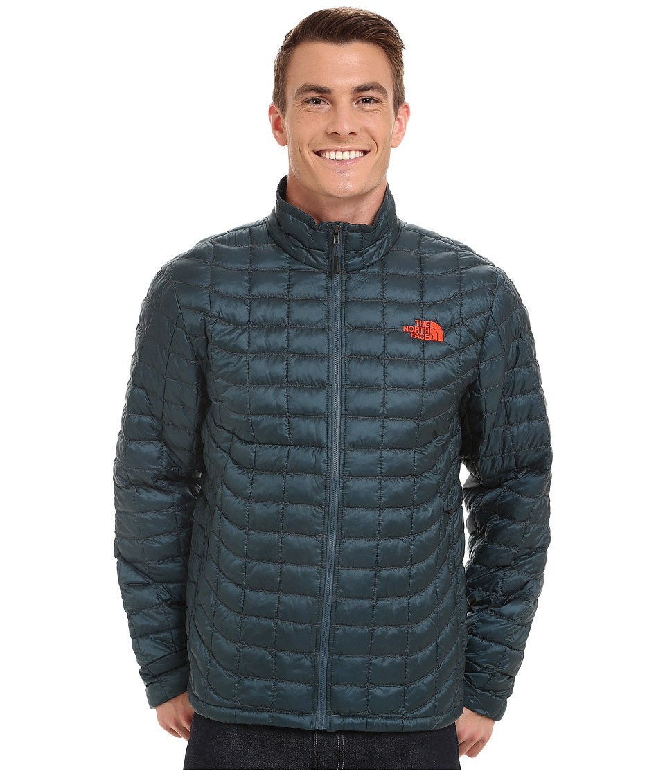 The North Face ThermoBall Full Zip Jacket (Conquer Blue) Men