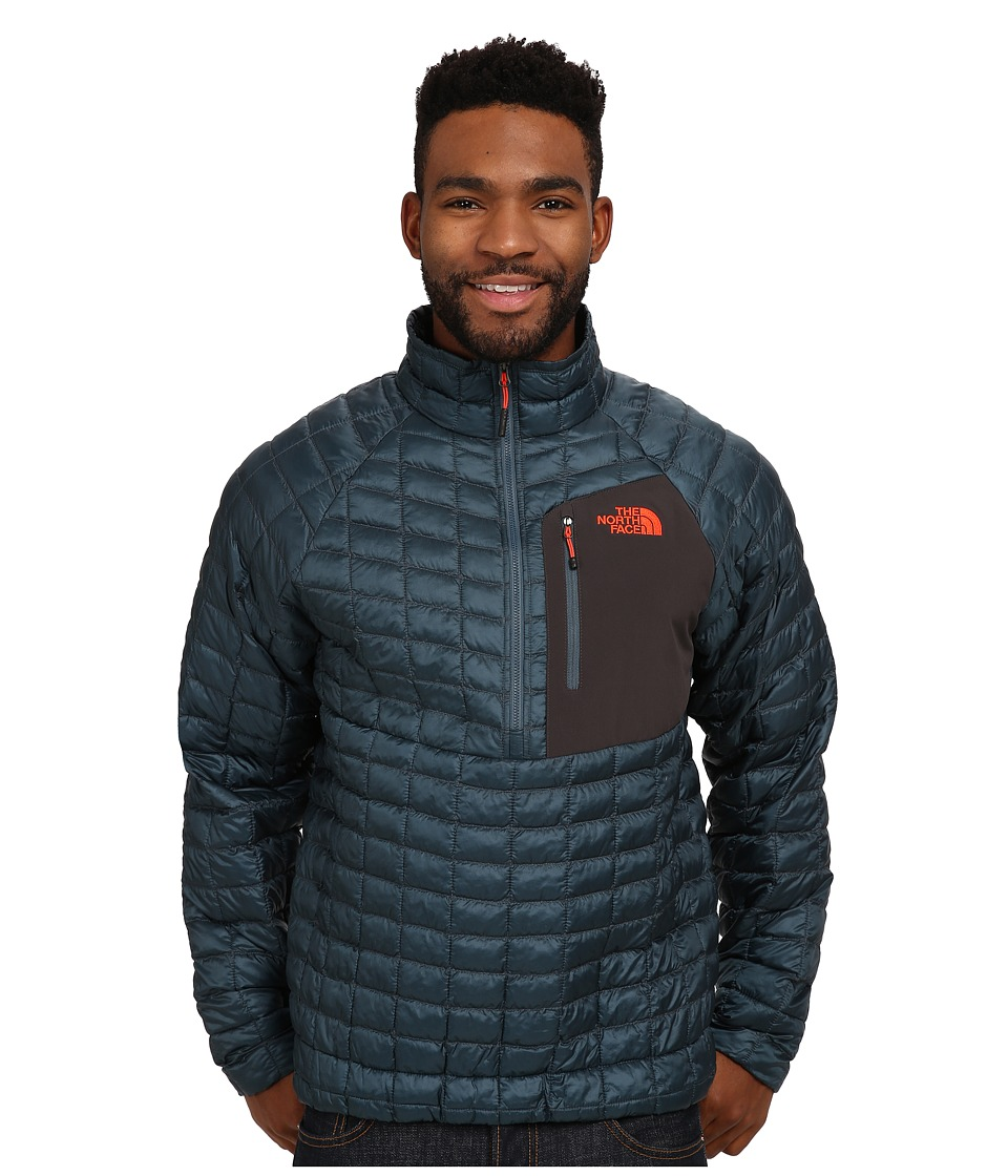 The North Face - ThermoBall Pullover (Conquer Blue) Men's Coat