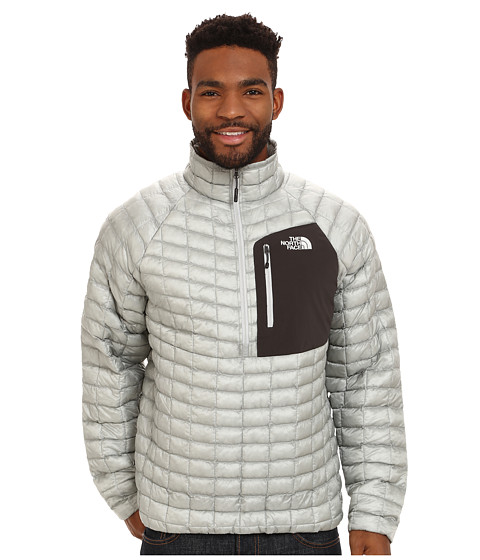 The North Face - ThermoBall Pullover (High Rise Grey/Asphalt Grey) Men's Coat
