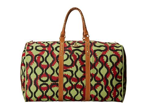 Vivienne Westwood - Africa Squiggle Print Weekender (Multi) Weekender/Overnight Luggage