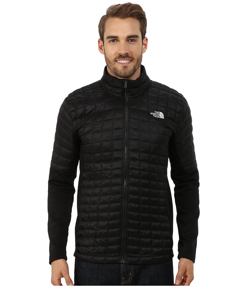 The North Face - Momentum ThermoBall Hybrid Jacket (TNF Black/TNF Black) Men