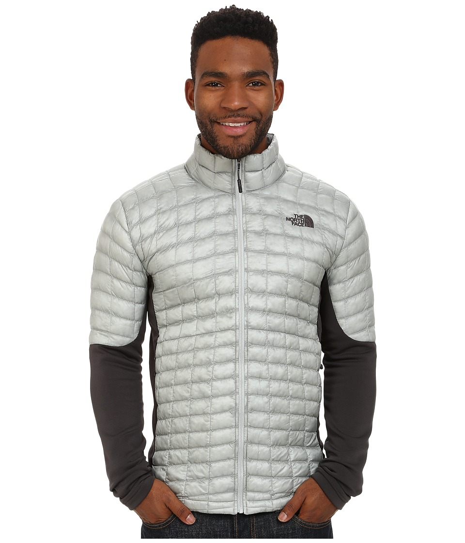 The North Face - Momentum ThermoBall Hybrid Jacket (High Rise Grey/Asphalt Grey) Men's Coat