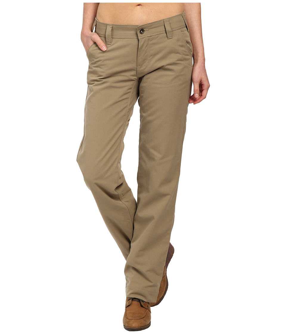 Marmot - Piper Flannel Lined Pants (Desert Khaki/Ocean) Women's Casual Pants