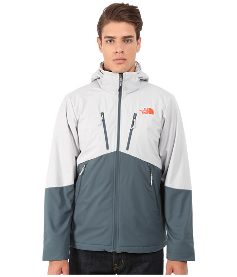 The North Face - Apex Elevation Jacket (High Rise Grey/Conquer Blue) Men