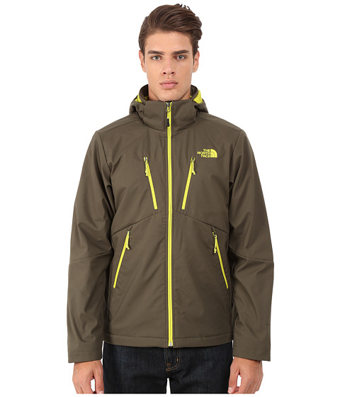 The North Face - Apex Elevation Jacket (Black Ink Green/Black Ink Green) Men's Coat