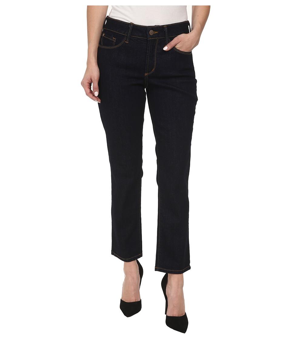 NYDJ Petite - Petite Ira Slim Ankle in Dark Enzyme (Dark Enzyme) Women's Jeans
