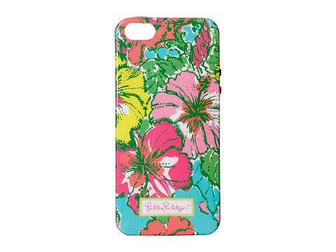 Lilly Pulitzer - iPhone 5 Cover (Shorely Blue Big Flirt Acces) Cell Phone Case